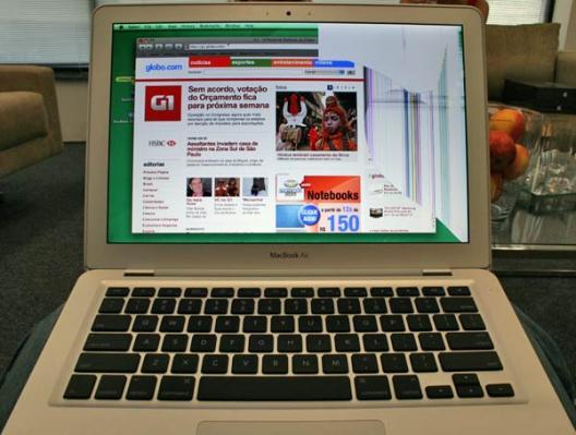 MacBook Air Crash