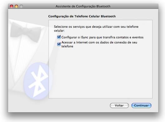 Funcionalidades da conexão do Mac com o celular