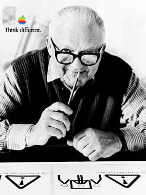 Paul Rand na Think Different