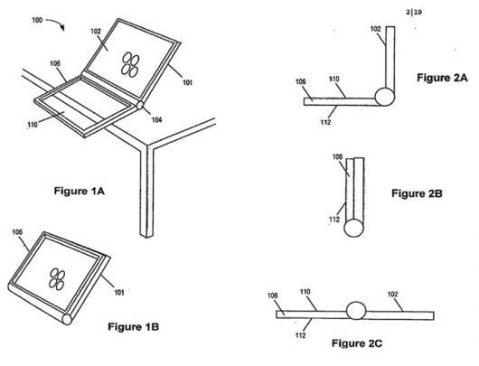 Nova patente da Apple, com tecnologia touchscreen dual