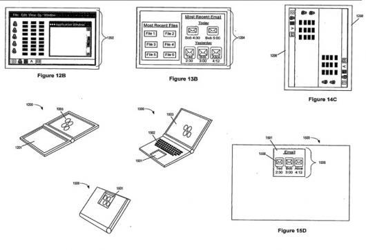 Dual-side track pad foi o nome dado à novidade