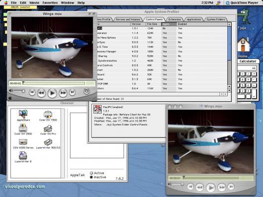 Ambiente Classic do Mac OS X