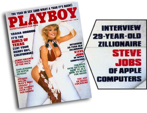 Steve Jobs na Playboy
