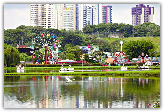 Parque Barigüi, em Curitiba (PR)