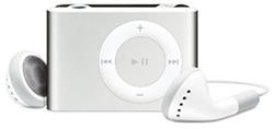 iPod shuffle 2GB prata