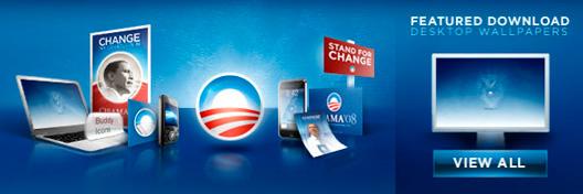 Site do Obama