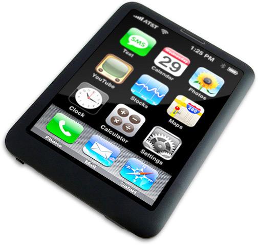 Mock-up do iPhone nano