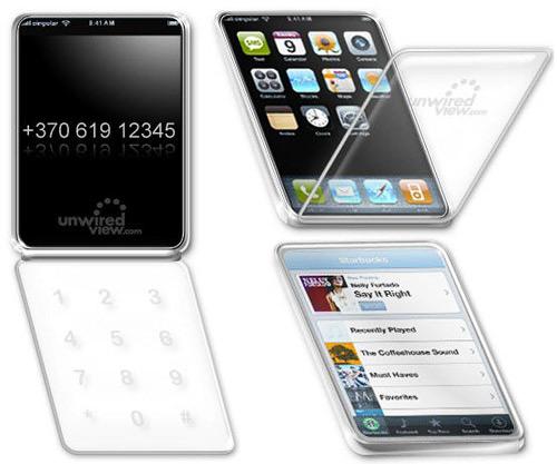 iPhone com flip?