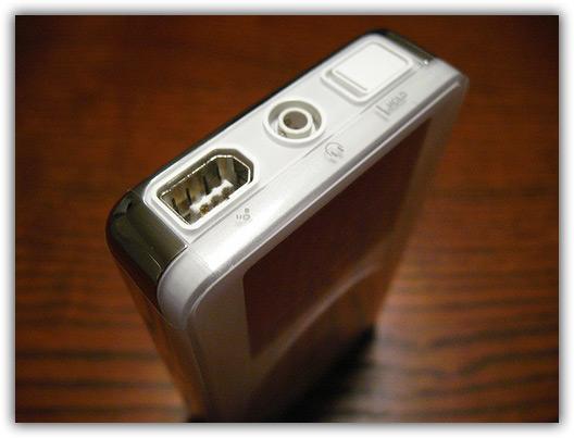 Relíquia: conector FireWire de 6-pinos!