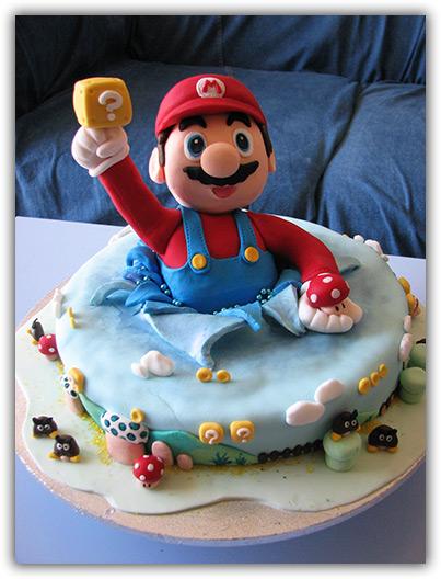 Geek Cake: Mario