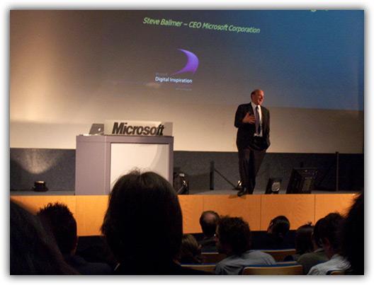 Steve Ballmer e MacBook Pro