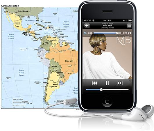 iPhone na América Latina
