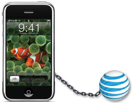 iPhone trancado na AT&T