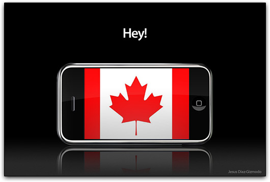 iPhone no Canadá
