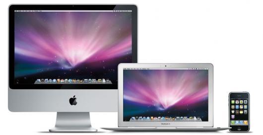 iMac, MacBook Air e iPhone