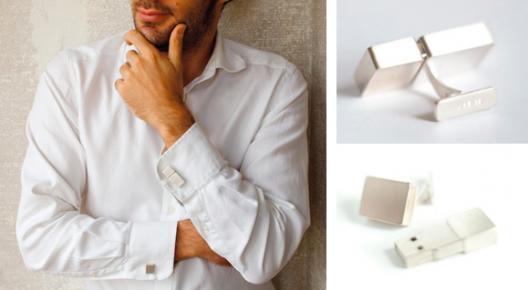 USB Jewellery: abotoaduras
