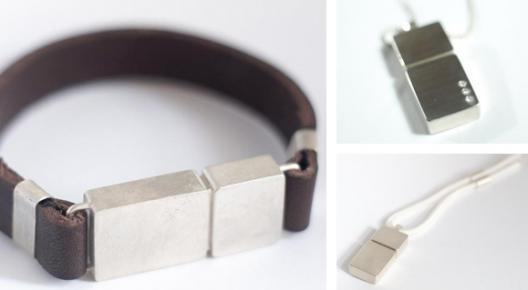 USB Jewellery: várias peças