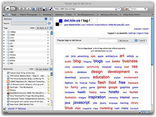 del.icio.us no Firefox 3.0