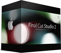Caixa do Final Cut Studio