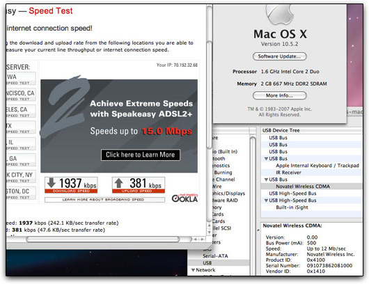 MacBook Air com 3G