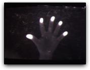 Pontas dos dedos (multi-touch)