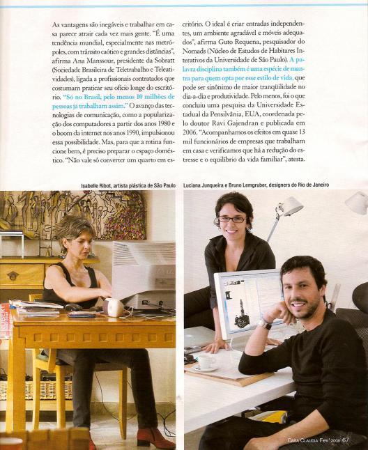 Mac é Pop na revista Casa Claudia