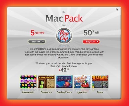 PopCap Mac Pack