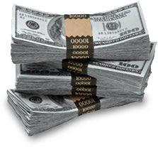 Pilha de dólares