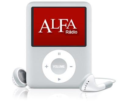 ALFA Rádio num iPod nano
