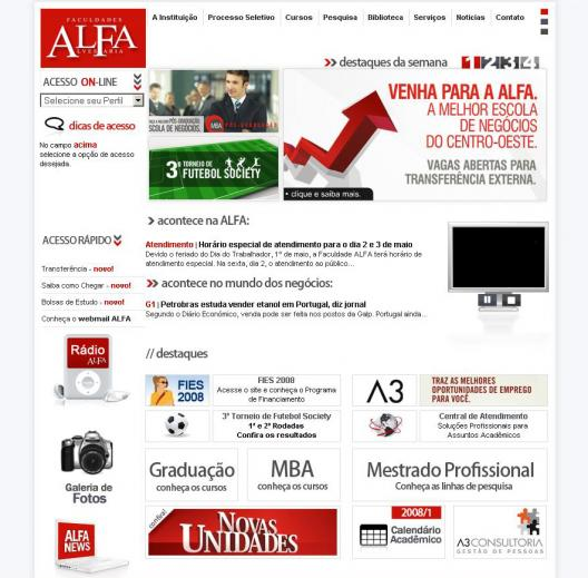 Site da ALFA