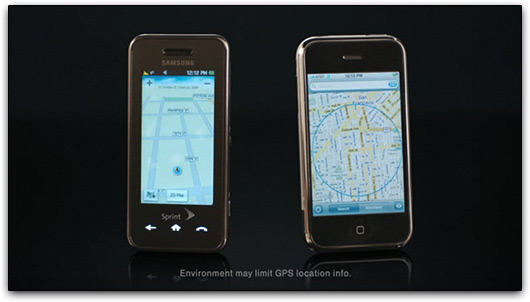 iPhone vs. Instinct