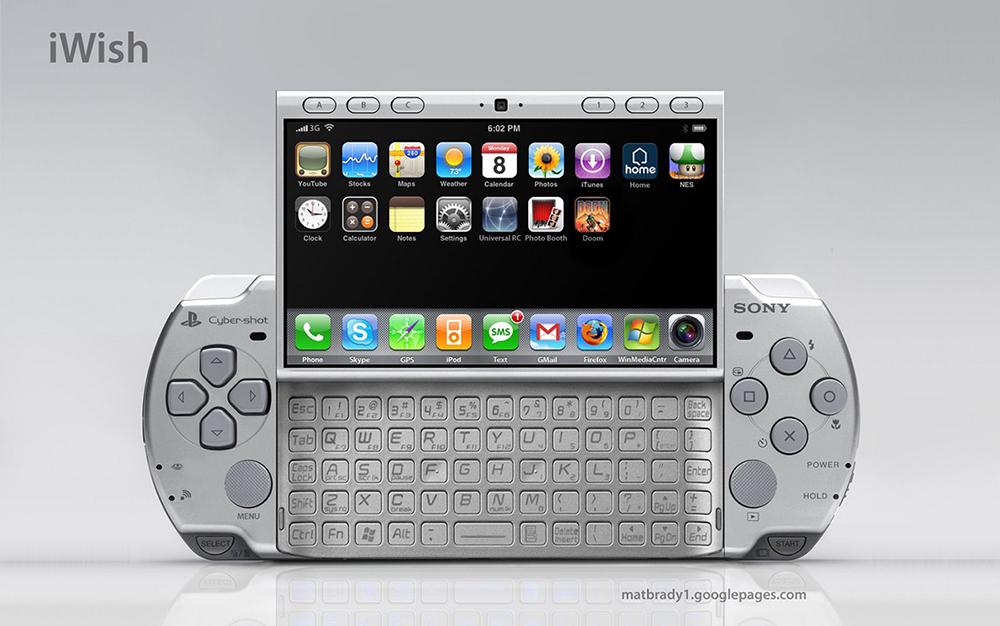 iWish: híbrido de iPhone com PSP