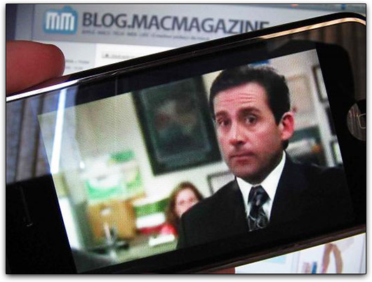 The Office no iPhone