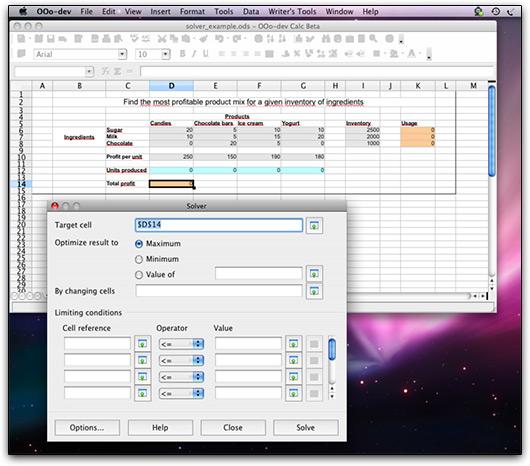 OpenOffice 3.0 beta no Mac OS X