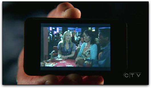 iPod touch em CSI