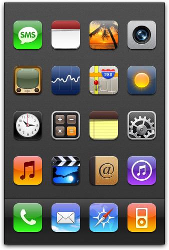 Tema para iPhone: Neue