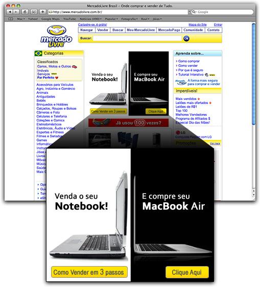 MacBook Air no MercadoLivre