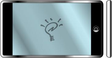 Mock-up básico de novo handheld da Apple