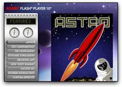 Adobe Flash Player 10 beta (Astro)