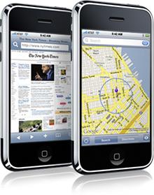 iPhone na internet