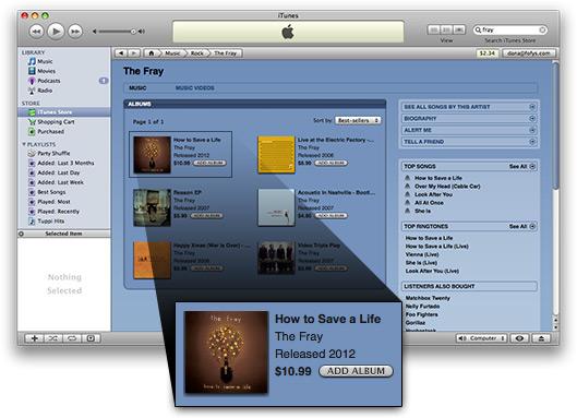 Álbum de The Fray lançado em 2012, segundo a iTunes Store
