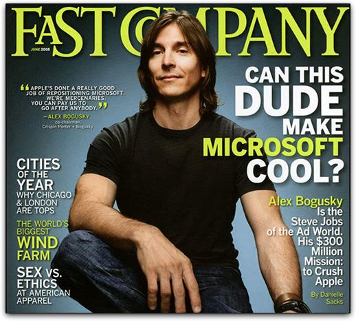 Bogusky na capa da Fast Company