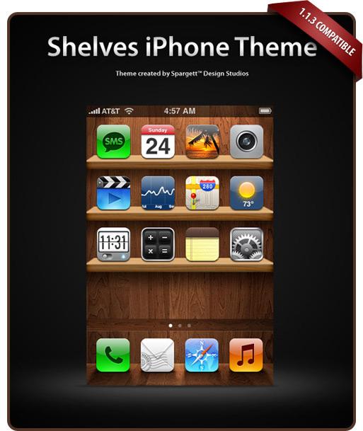 Shelves para iPhone