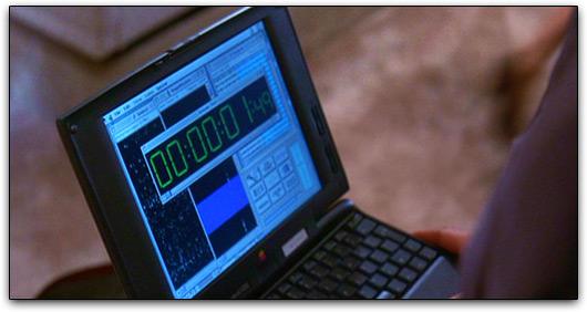 PowerBook 1400c/cs em Independence Day