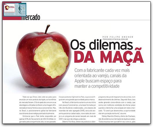 Apple na CRN Brasil
