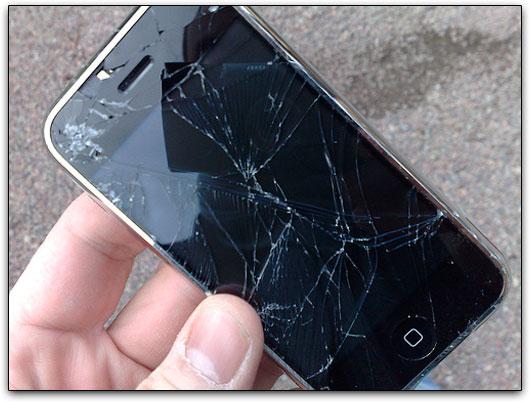 iPhone Crashed