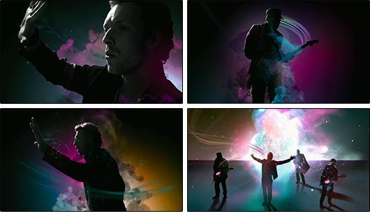Coldplay em comercial iPod + iTunes