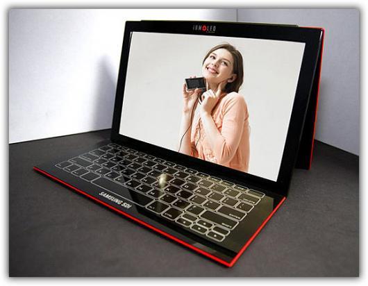 Protótipo do novo laptop ultrafino da Samsung