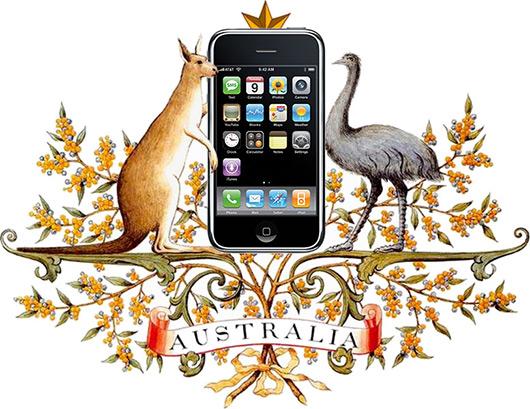 iPhone na Austrália