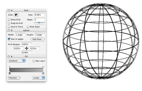 Esfera no Lineform